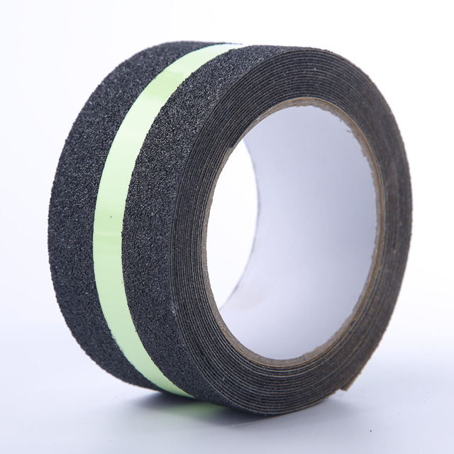 Black And Luminous Anti Slip Tape