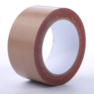 70 Mesh Waterproof PE Packaging Brown Cloth Duct Tape