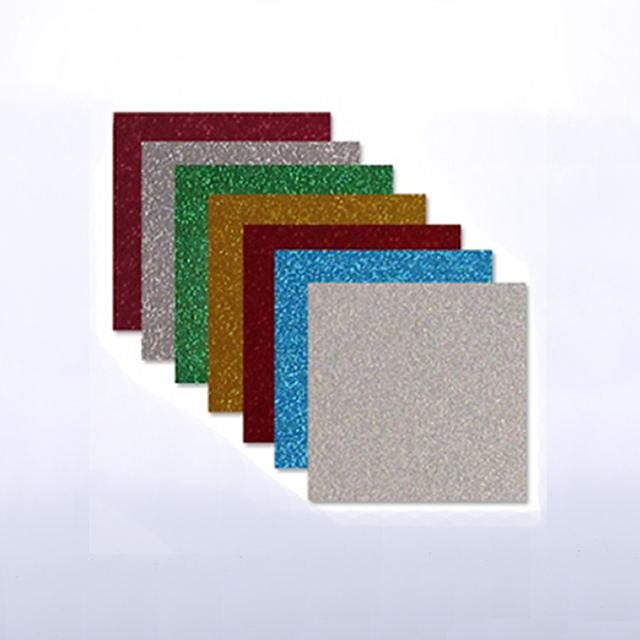 Glitter Heat Transfer Adhesive Vinyl Sheets